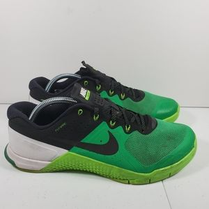 Nike Metcon 2 Shoes Men's Size 10 VoltageGreen/Wol